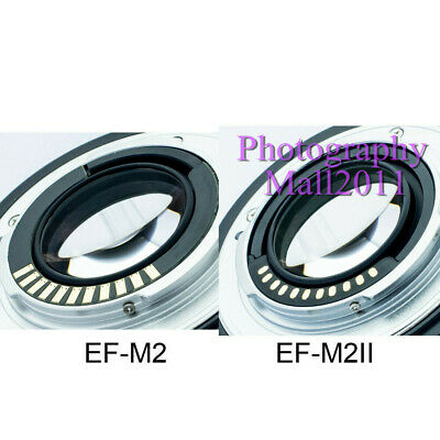 Viltrox EF-M2 II Auto Focus Adapter Speed Booster for Canon EF Lens to MFT M4/3 5