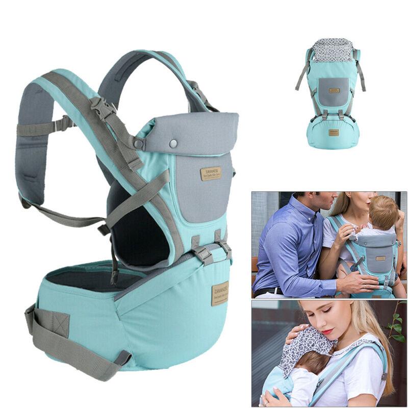 9 in1 Ergonomische Babytrage Kindertrage Bauchtrage Rückentrage 4 Tragpositionen 4
