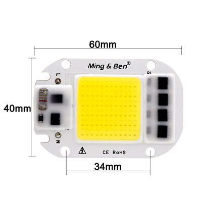 20W 30W 50W WarmWhite DIY Glühbirne LED Chip Glühbirne Perlen 60x40mm für flood 2