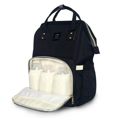 Multifunctional GENUINE LAND Large Baby Diaper Backpack Mummy Nappy Changing Bag 4