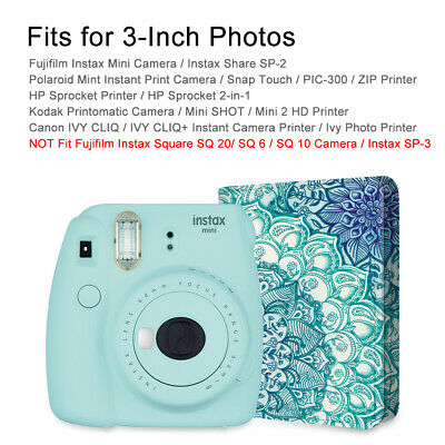 104 Pockets Mini Photo Album for 3-Inch Pictures by Fujifilm Instax Mini 8/9/90 10
