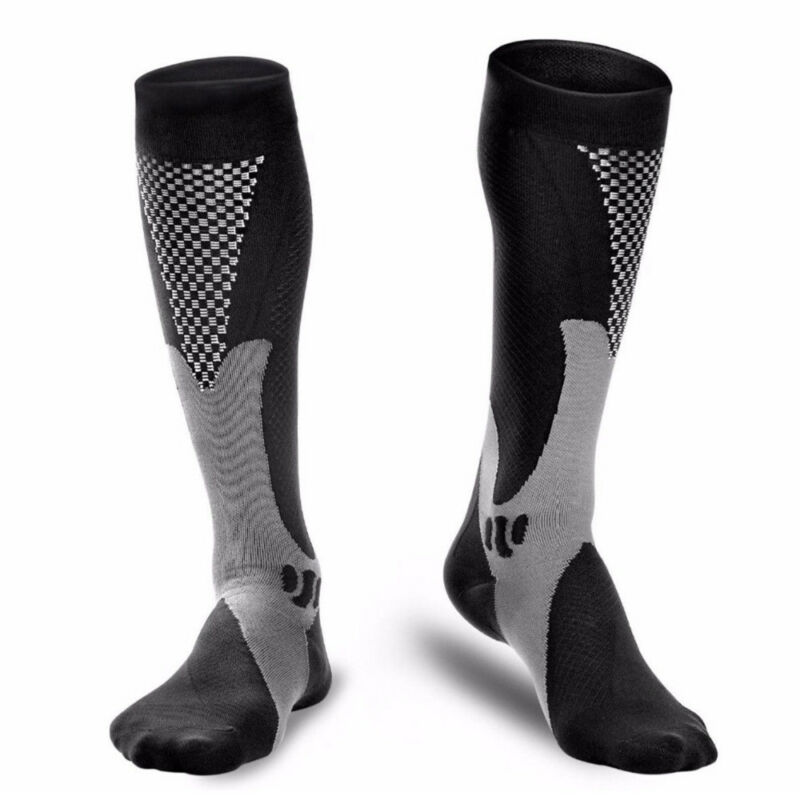Medical Compression Socks Anti Fatigue Unisex Travel DVT Comfort Thigh Stockings 7