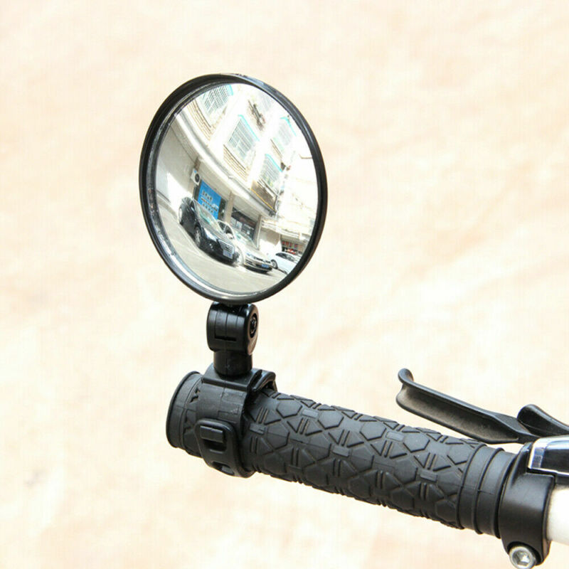 Cycling Bike Bicycle Handlebar Flexible Safe 360° Rearview Rear View Mirrors NEW 7