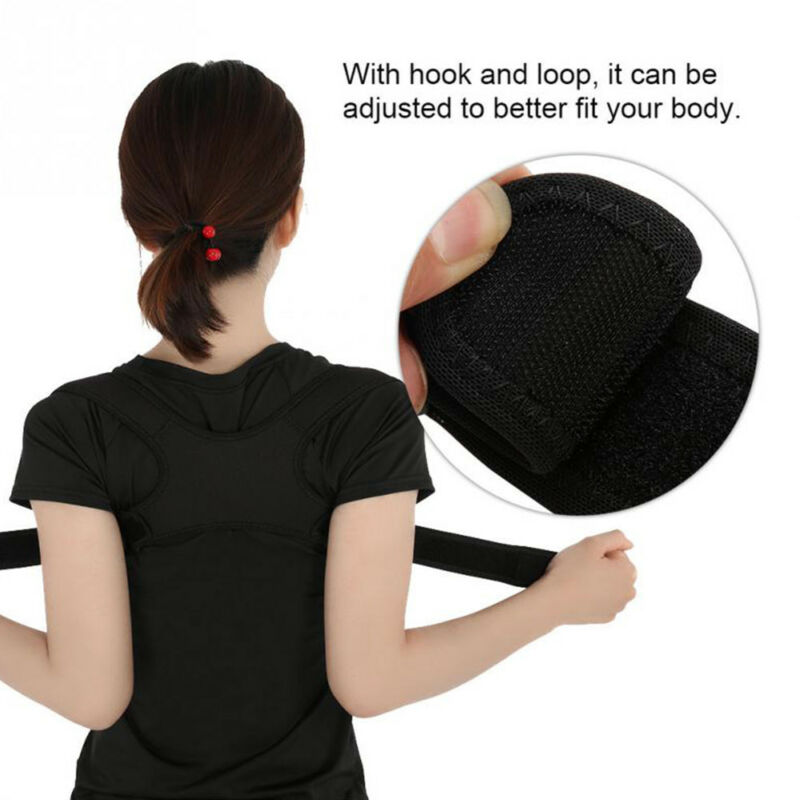 Posture Corrector Brace Women Men BAD Back Support Clavicle Shoulder Body Belt