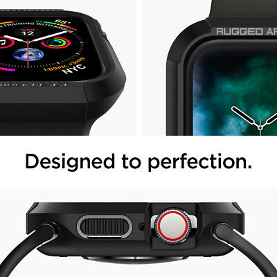 Apple Watch Series 5/4 Case (40mm,44mm) Spigen® [Rugged Armor] Protective Cover 5