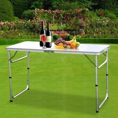 Heavy Duty Folding Table Portable Picnic Camping Garden Party BBQ Indoor Outdoor 12