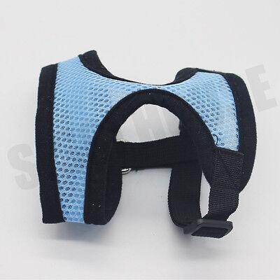 AU Pet Cat Dog Puppy Soft Leash VEST Mesh Breathe Harness Braces Clothes New 9