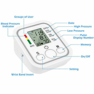 Arm Style Misuratore Elettronico Di Pressione Da Braccio Aritmia Cardiaco 6