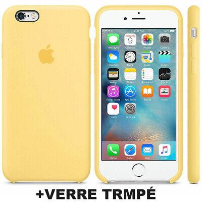 Cover Coque iPhone 6 7 8 Plus Xr Xs MAX X Slim Protection + Film Verre trempé 7