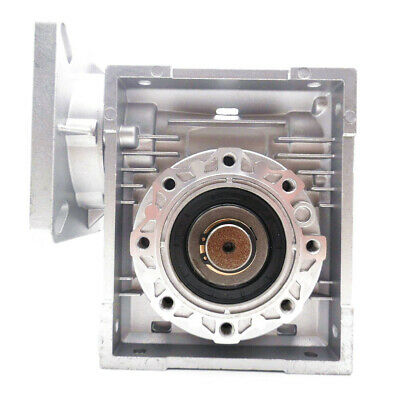 NMRV075 30:1 Worm Gear Speed Reducer 19mm Input Shaft  for NEMA42 Stepper Motor 5