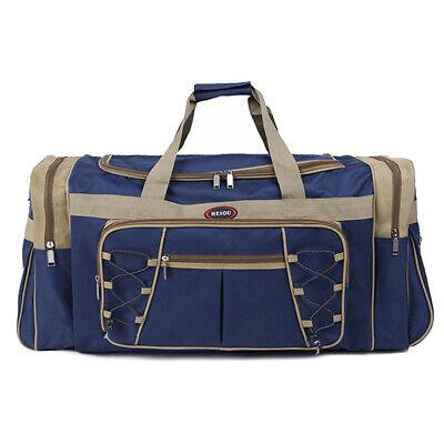 "25"" Men Travel Gym Duffle Bag Sports Waterproof Blue Tote Handbag Overnight New 2"