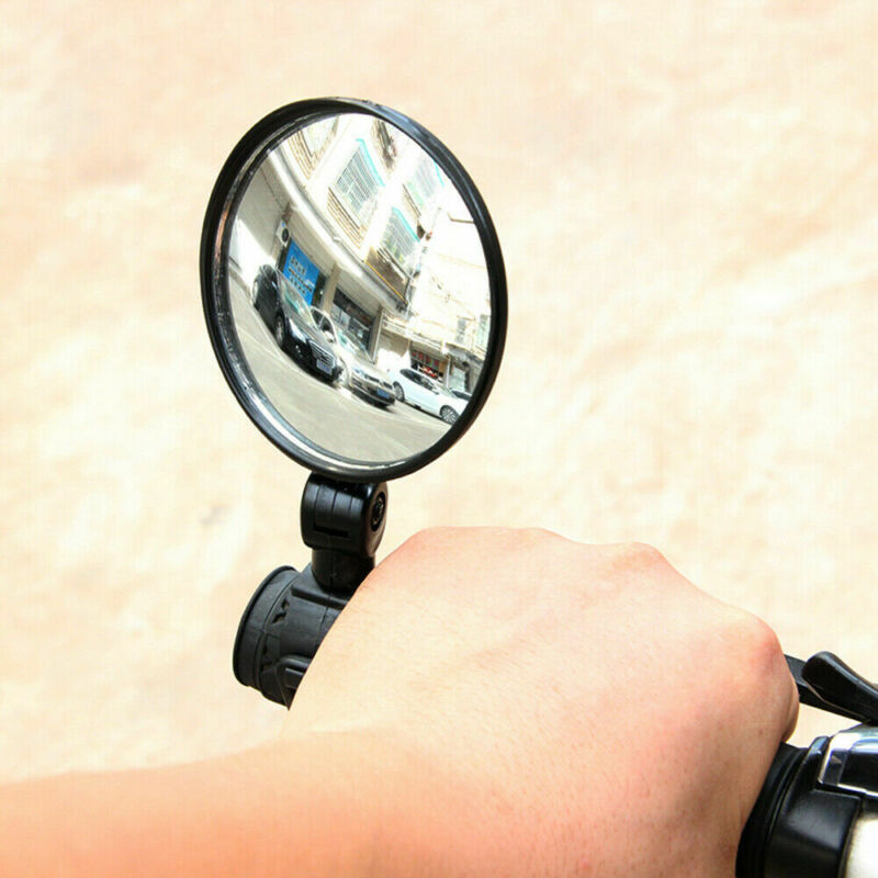 Cycling Bike Bicycle Handlebar Flexible Safe 360° Rearview Rear View Mirrors NEW 8