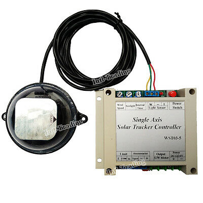 1KW Single Axis Solar Tracker-Solar Tracking System Complete Sunlight Track Kits