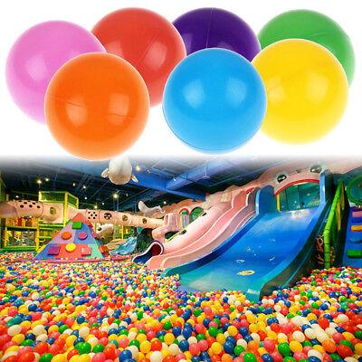 100pcs Colorful Ball Soft Plastic Ocean Ball Funny Baby Kids Swim Pit Pool Toys 8