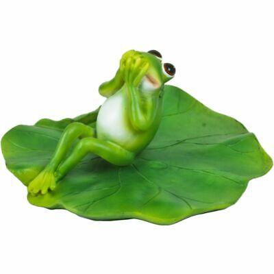 Frosch Figur Set Deko Frösche Frühlingsdeko Gartendeko