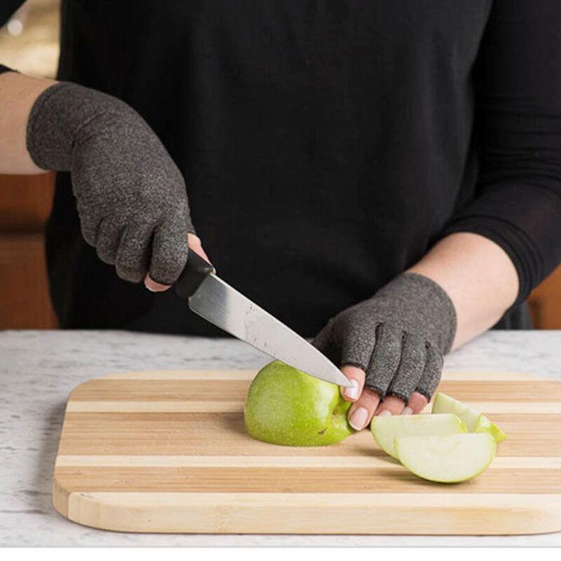 Anti Arthritis Gloves Hand Support Pain Relief Arthritis Finger Compression GW 9