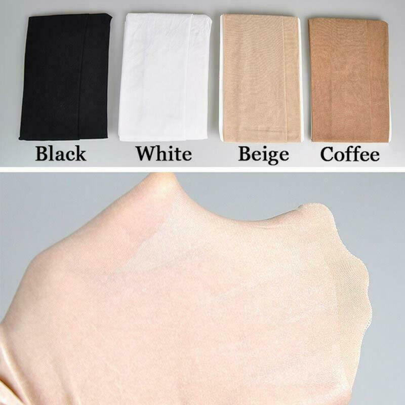 Seamless Women Pantyhose Stocking Oil Glossy Shiny Sheer Tights Crotch/Crotchles 12
