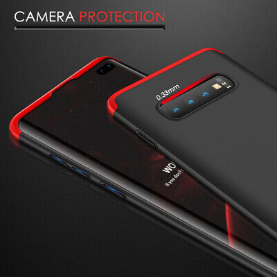 Thin Shockproof Slim Case + Screen Protector For Samsung Galaxy S10/S9/S8 Plus 3