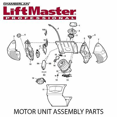 Liftmaster 41a5585 1 Replacement Gear Sprocket Assembly Garage