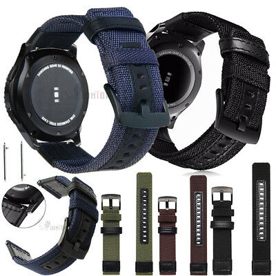 22MM Replacement Leather/Steel/Nylon Wrist Watch Band Strap For Huawei watch GT 12