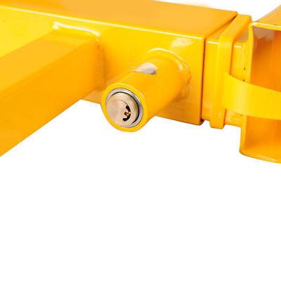 2X Heavy Duty Wheel Clamp Anti Theft Lock Caravan Trailer Security With Keys Chn 5