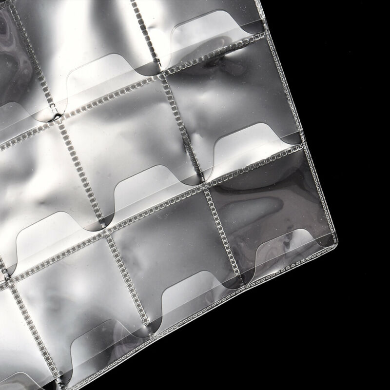 10 Sheet 30 Pockets Plastic Coin Holders Storage Collection Money Album Case $B