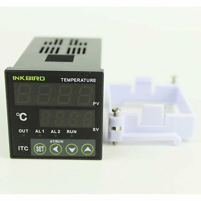 INKBIRD Digital Thermostat PID Temperature Controller K sensor SSR 240v 220V  UK 4