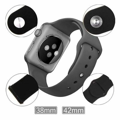 Silicone Sport Band Strap for Apple Watch iWatch Series 4 3 2 1 38/40mm 42/44mm 7