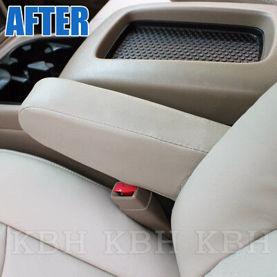 Seat Armrest Leather Cover for Chevy Tahoe Suburban Escalade Yukon 00-06 Black