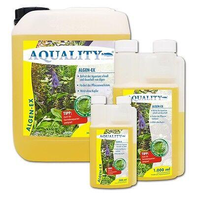 AQUALITY Algen-EX 1000 ml wirkt sicher gegen Algen im Aquarium Algenmittel 2