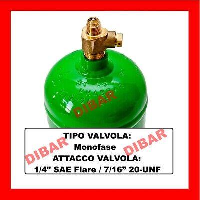 Bombola Gas Refrigerante R134A Da 1 Litro Ricarica Climatizzatori Auto 2