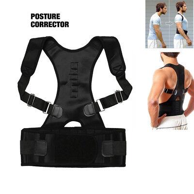 Correcteur de Posture Epaule Dos Arrière Magnétique Reglable Entretoise Ceinture 2