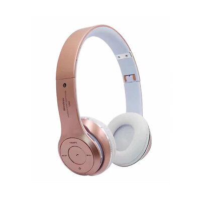 Wireless Bluetooth Over-Ear Headphones Earphones Headset for Pad/Tablet/Phones