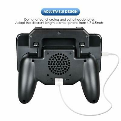 Mobile Phone Game Controller Joystick Cooling Fan Gamepad for PUBG Android IOS 6