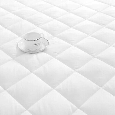 Extra Deep Quilted Mattress Bed Protector Topper Fitted Cover Double King Size 5