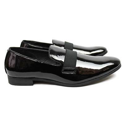 ad623fb4eefd ... New Men's Black Slip On Patent Leather Tuxedo Formal Event Dress Shoes  By AZAR 2