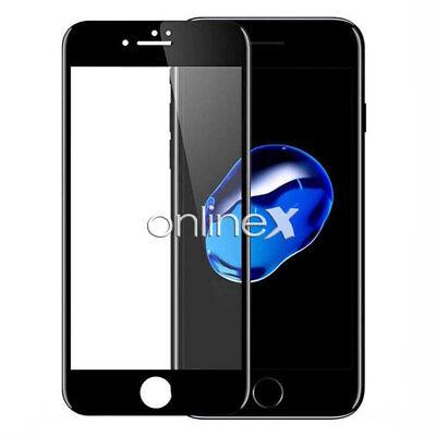 Cristal Templado 3D IPHONE 7 / IPHONE 8 / SE 2020  Protector CURVO NEGRO a3800 2