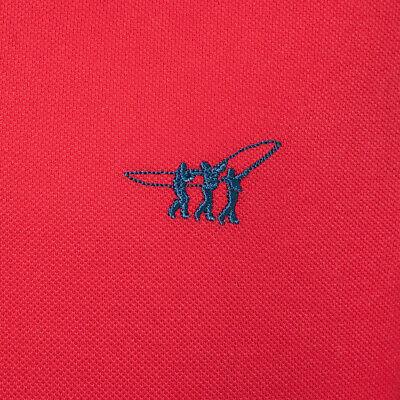 Polo uomo HENRY COTTON'S manica corta cotone piquet 3 bottoni maglia casual 3