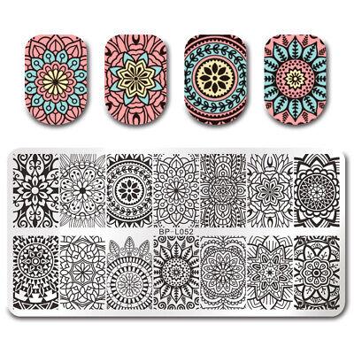 BORN PRETTY Nail Art Stamping Stamper Raschietto Piastra Plate Immagine 5