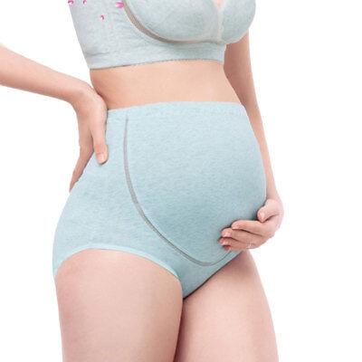 3 Packs Women High Waist Adjustable Maternity Pregnant Panties Briefs Underwear 5