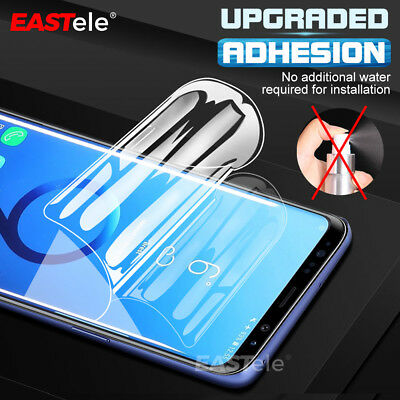 3x EASTele HYDROGEL AQUA Screen Protector Samsung Galaxy S10 S9 S8 Plus Note 9 4