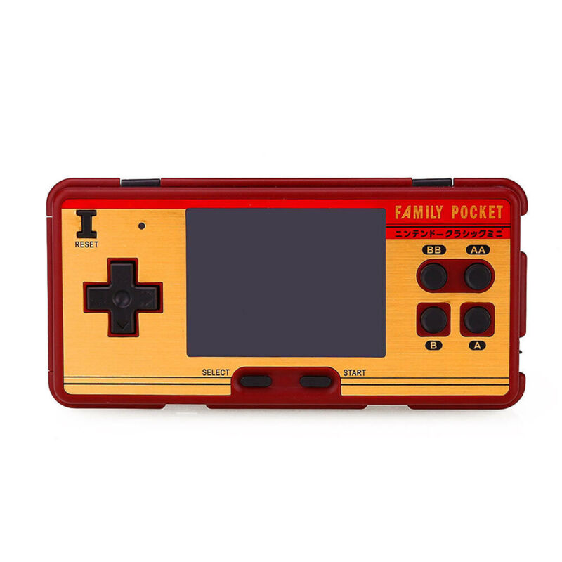 Mini Retro Portable Handheld Game Player Family Pocket Built in 638 Classic Game 4