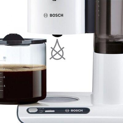 Bosch TKA8011 Weiss-Anthrazit Elektro-Klein 1,25 l Fassungsvermögen Glaskanne 2