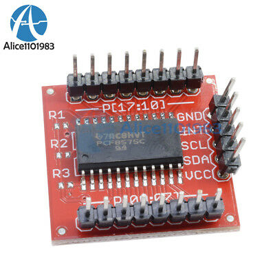 PCF8575 IIC I2C I/O Extension Shield Module 16 bit SMBus I/O ports For Arduino 5