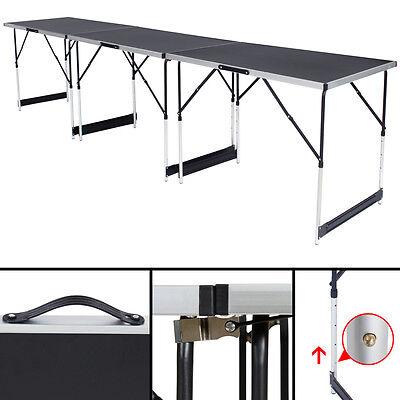 Tables à tapisser en aluminium ensemble de 3 tables tréteaux table de travail 4