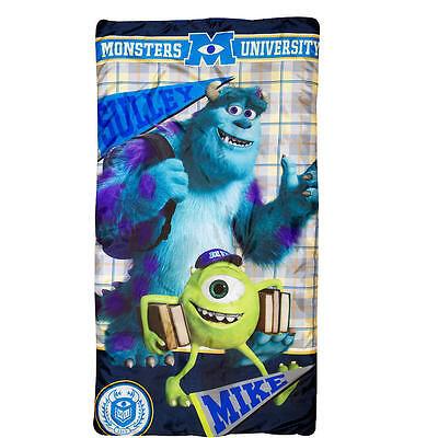 Monsters University KIDS BOYS GIRLS Slumber Bag Sleeping Bag + Backpack NEW 2