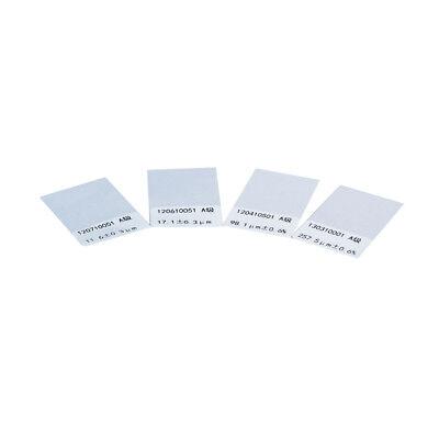 YUSHI Calibration Foil Standard 8000μm for Coating Thickness Gauge 3