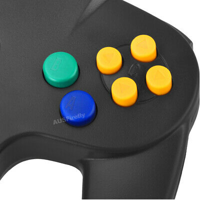 New Nintendo 64 N64 Games Classic Gamepad Controllers For Usb To Pc/Mac 8