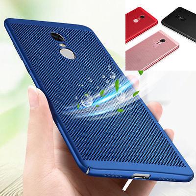 For Xiaomi Redmi Note 5 Pro 4X Mi 8 SE A2 Breathable Anti-Hot Hard Case Cover 2