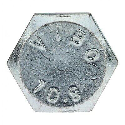 DIN 931 10.9 M12 x 70 verzinkt 25 Stk Sechskantschraube mit Schaft
